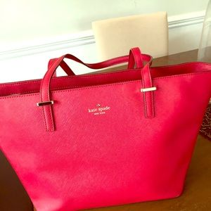 Kate Spade Red Tote